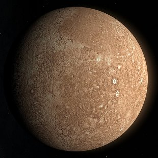 mercury planet size and color - photo #42