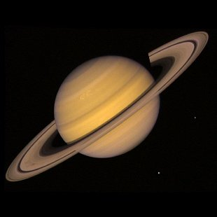 Planet Saturn: