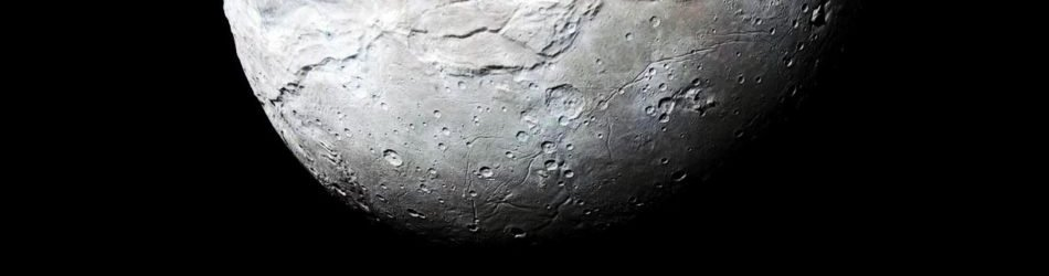 Charon Moon: Charon: Largest Moon Of Pluto